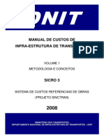 Sicro 3 Volume 01 (Metodologia e Conceitos)