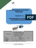 14- Mantenimiento e máquinas con motor universal