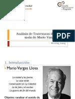 Ánalisis de Vargas Llosa