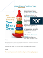 The Downsides of Having Too Many Toys.docx