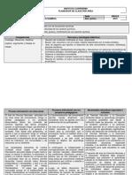 Planeador de Clase - Ciencias Naturales - 4 S1