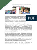 Grupos Indigenas Actuales en El Departamento Del Huila