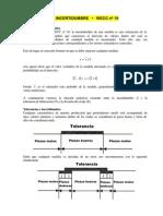 Calculo de La Incertidumbre (Wecc-19)
