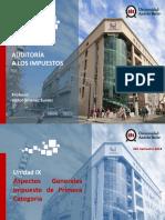 Auditoria en Impuestos UNAB - Unidad IX.pptx