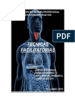 Técnicas facilitatorias