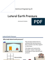 CE 153_Geotechnical Engineering II (Lateral Earth Pressure)