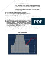 CAD Tutorial 8 Introduction to FEA