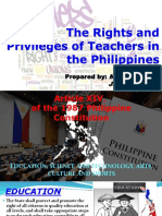 The Rights and Privileges