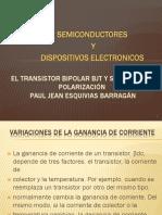 Polarizacion Del Transistor Bjt - Copia
