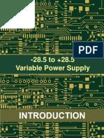 Power Supply Ppt