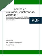 Adolescentes en Colombia