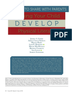 Helping Your Child Develop Physical Literacy