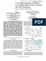 Study of FACTS Implementation to Balance Transmission Line Loading under Steady, Dynamic, and SSR Simulation Study Case Suralaya - Balaraja 500 kV