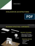 Evolucion de Las Estructuras