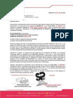 Sams Rosario carta