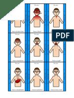 body parts  illness