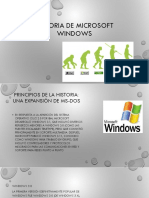 Historia de Microsoft Windows