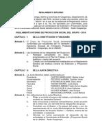 Reglamento Interno - GEMMA