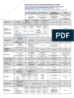 Stanford Health Care Antimicrobial Dosing Reference Guide