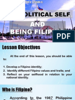 The Political Self and Being Filipino