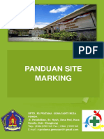 Panduan Site Marking