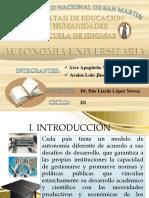 Autonomia universitaria