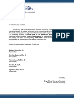 Request Letter (Sourcing of Decmolished Concrete)