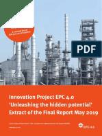 EPC 4.0 - Engineering Procurement Construction