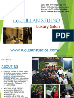 luxury salon and spa