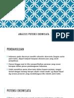 p1 - Analisis Potensi Ekowisata A