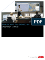 SYS600 Operation Manual