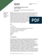 De La Rosa Et Al (2012) Enfoque Crítico en Psicología