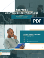 CHAPTER 4 - Control System Tightness