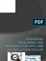 Fraud Error Noclar