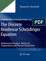 The Discrete Nonlinear Schrödinger Equation