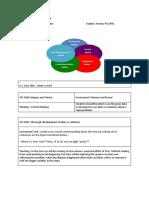 ATL Skills - 11 - KIS Semester Plan