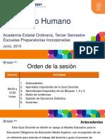 PPT_Desarrollo Humano_Academias Estatales Junio 2019_Tercer Semestre_Incorporadas