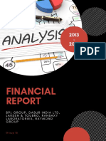 Comparative Financial Report