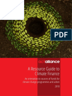 ENGLISH Quick Guide Climate Finance