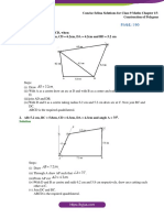 Concise Selina Solutions for Class 9 Maths Chapter 15 Construction of Polygons