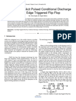Researchpaper Low Power Explicit Pulsed Conditional Discharge Double Edge Triggered FlipFlop