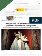 La Virgen de la Encarnación de Vilaselán, protectora de marineros y emigrantes