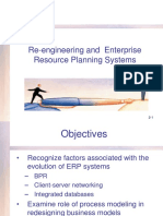 Re-engineering and Enterprise Resource Planning