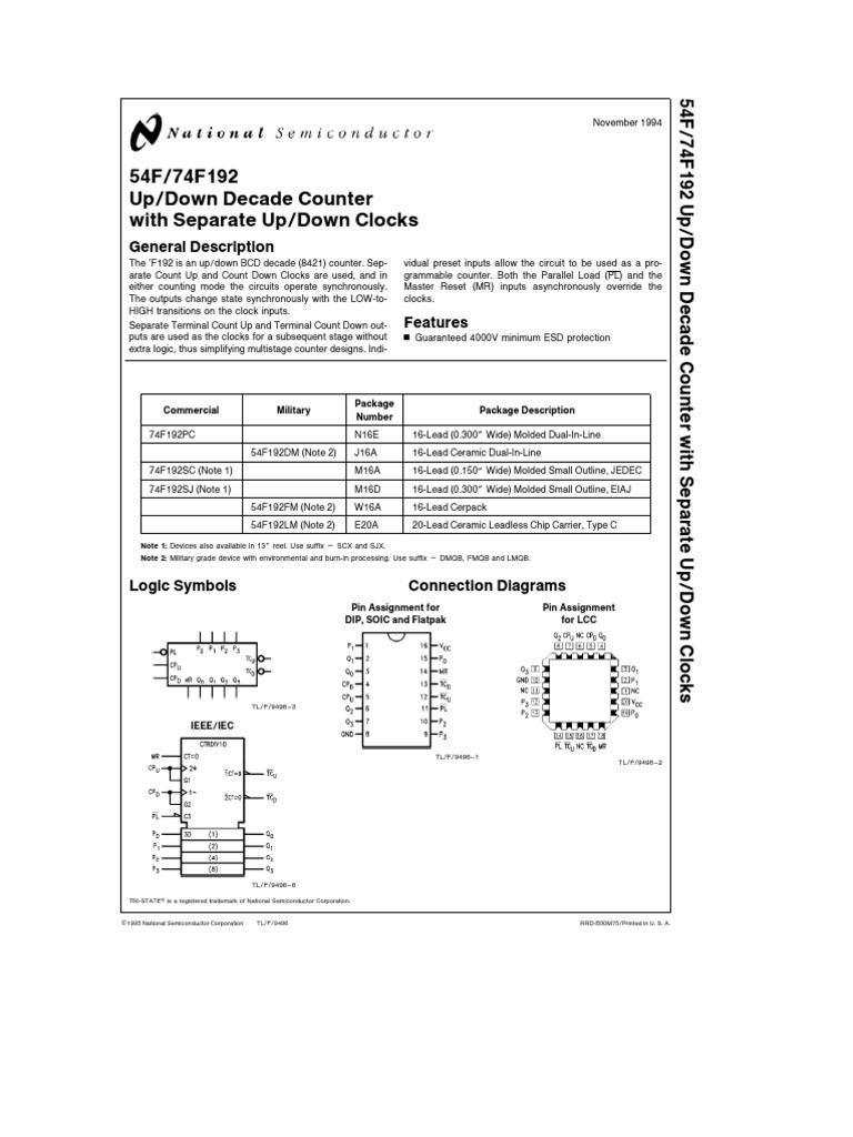 74192 Electronic Design Engineering Decade Counter Circuit Diagram Free Download Wiring Diagrams