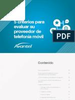 5 Criterios Evaluar Proveedor Telefonia Movil