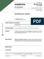 NF EN 13139 _Granulats pour mortiers Janvier 2003.pdf