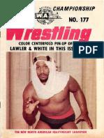 NWA Wrestling magazine # 177 , 1974