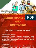 Assisting IV BT
