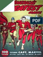 Americas Greatest Comics Fawcett #1 , 1941