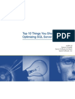 Top Things About Optimizing SQL Server Perf Final